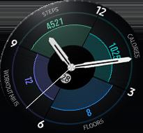 Gear S3 4 w 1 Always-On-Display