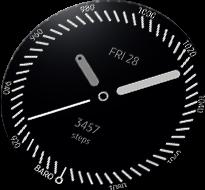 Gear S3 Kompan wędrówek Always-On-Display