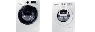 Une image de la gamme de lave-linge AddWash™