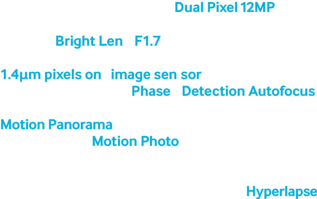 Изображение модуля камеры с текстом