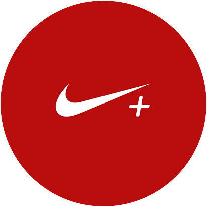 UInterface graphique de l'application Nike Plus.