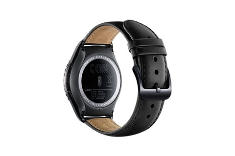 Back view of gear s2 classic