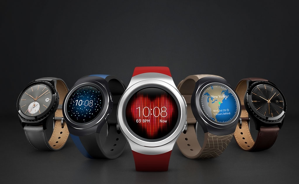 Example of a personalized Gear S2