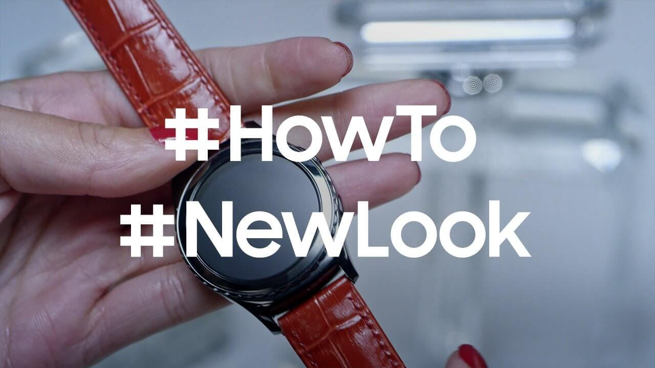 How to use the Gear S2 Classic with traditional watch bands