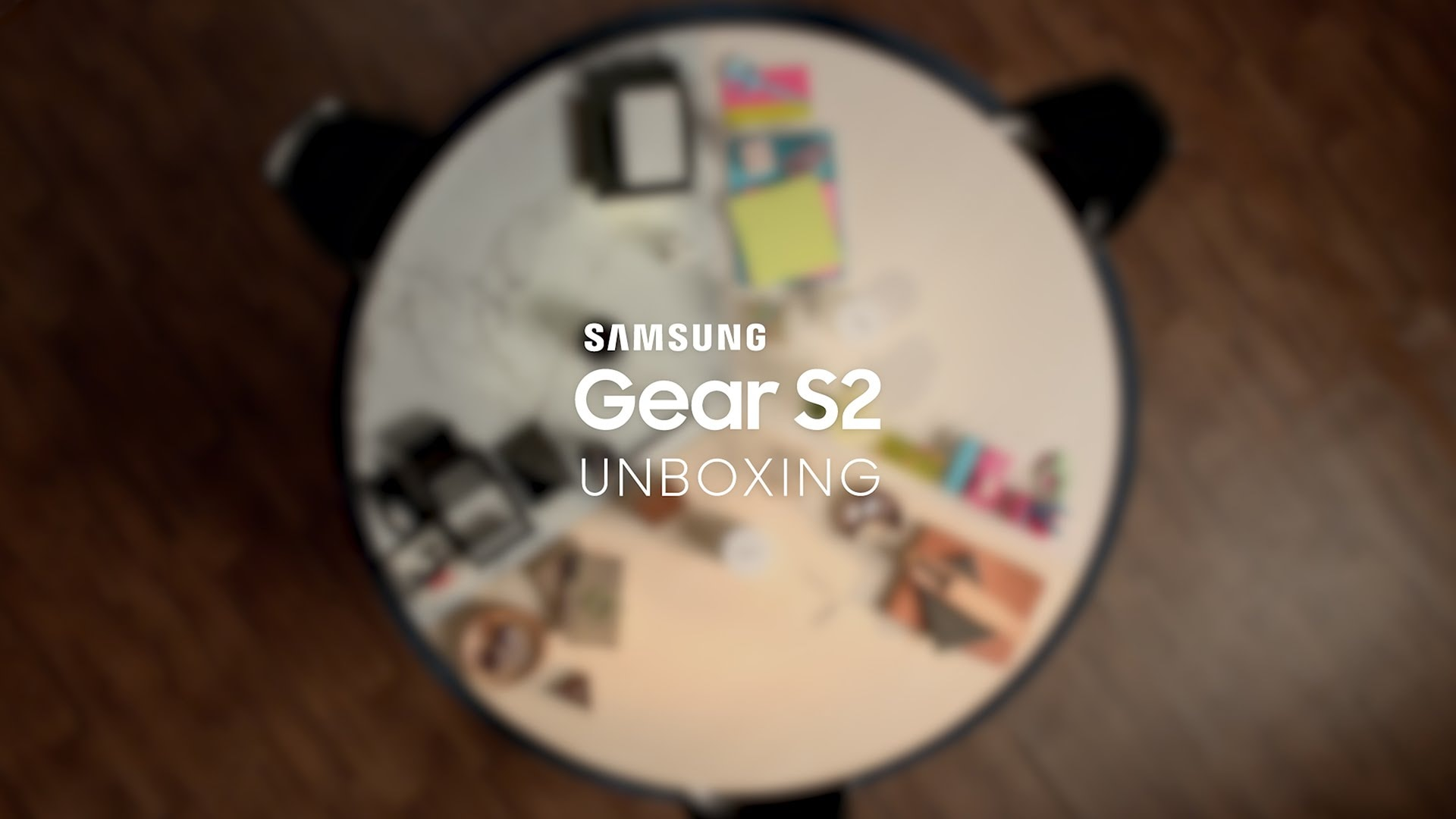 Samsung Gear S2: Déballage officiel