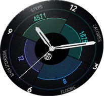Gear S3 4 in 1 Always on Display