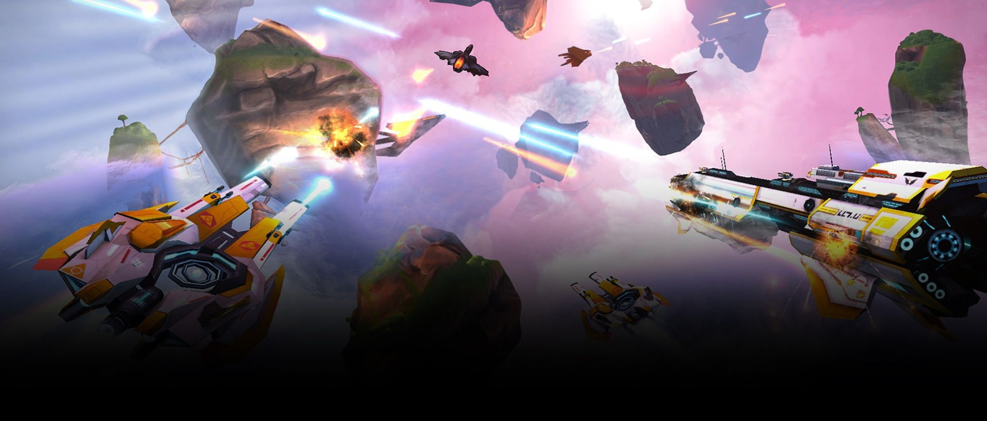Example image 2 of Gear VR game Anshar Wars 2