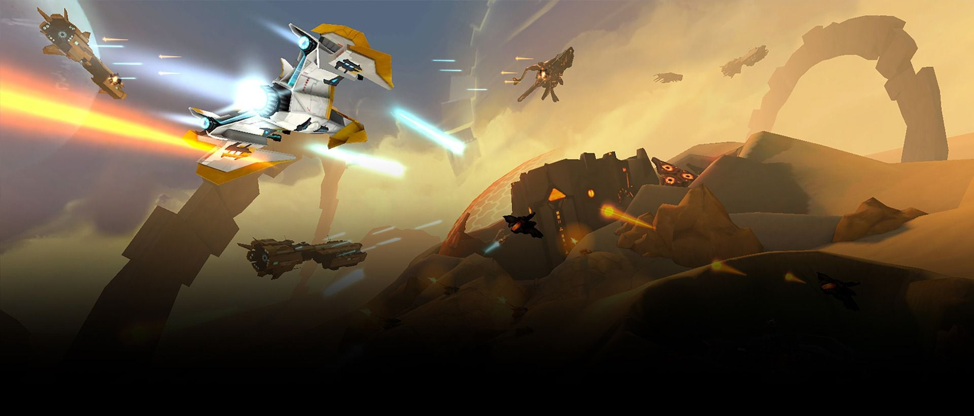 Example image 3 of Gear VR game Anshar Wars 2