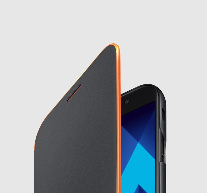 Neon Flip Cover for the Galaxy A5 (2017) Variety of smartphone accessories for the Galaxy A5.