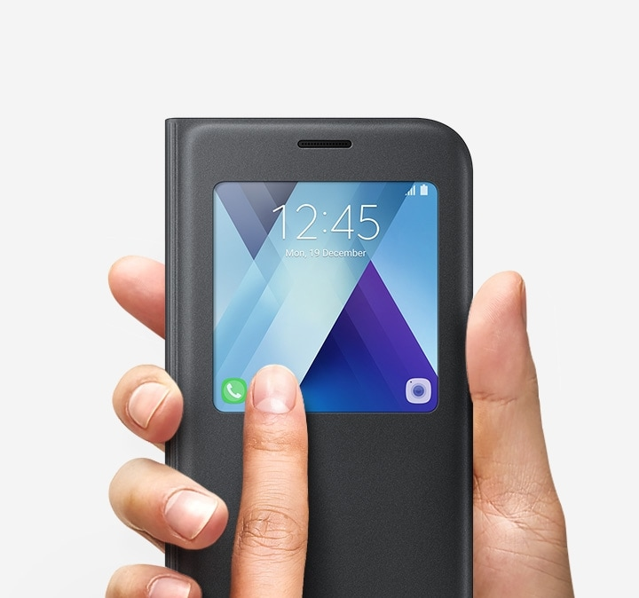 S View Standing Cover for the Galaxy A7 (2017) Variety of smartphone accessories for the Galaxy A7.