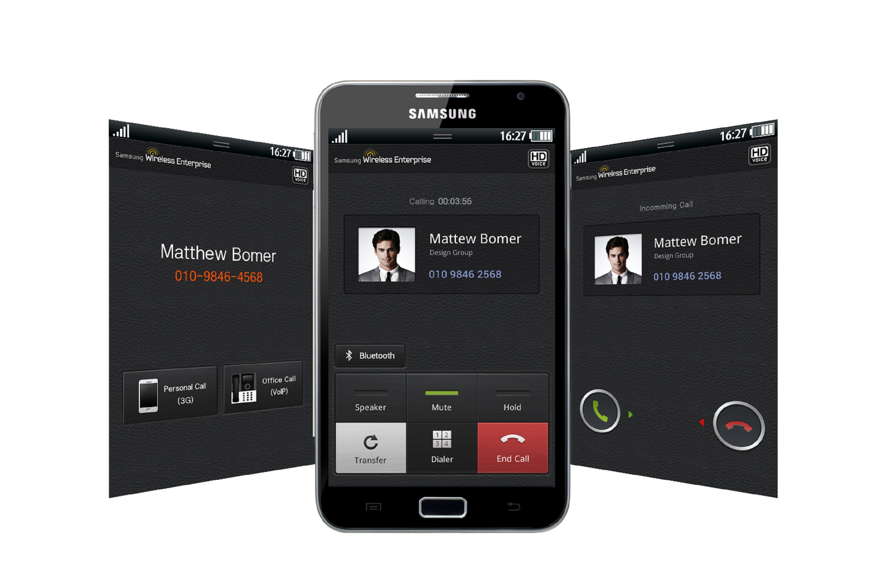 Mobile VoIP Application 1 Front
