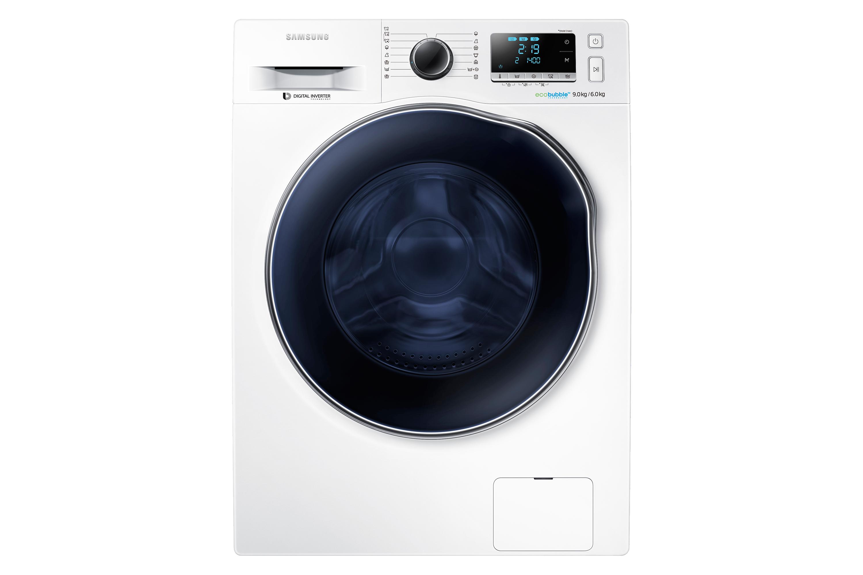 WD6000 Πλυντήριο / Στεγνωτήριο με Eco Bubble™, 9 kg / 6kg