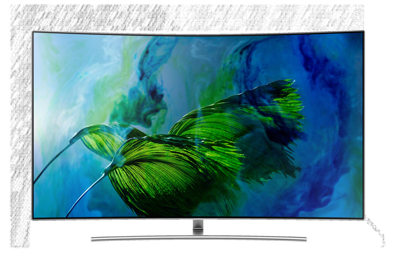 """65""""Q8C 4K Curved Smart QLED TV"""