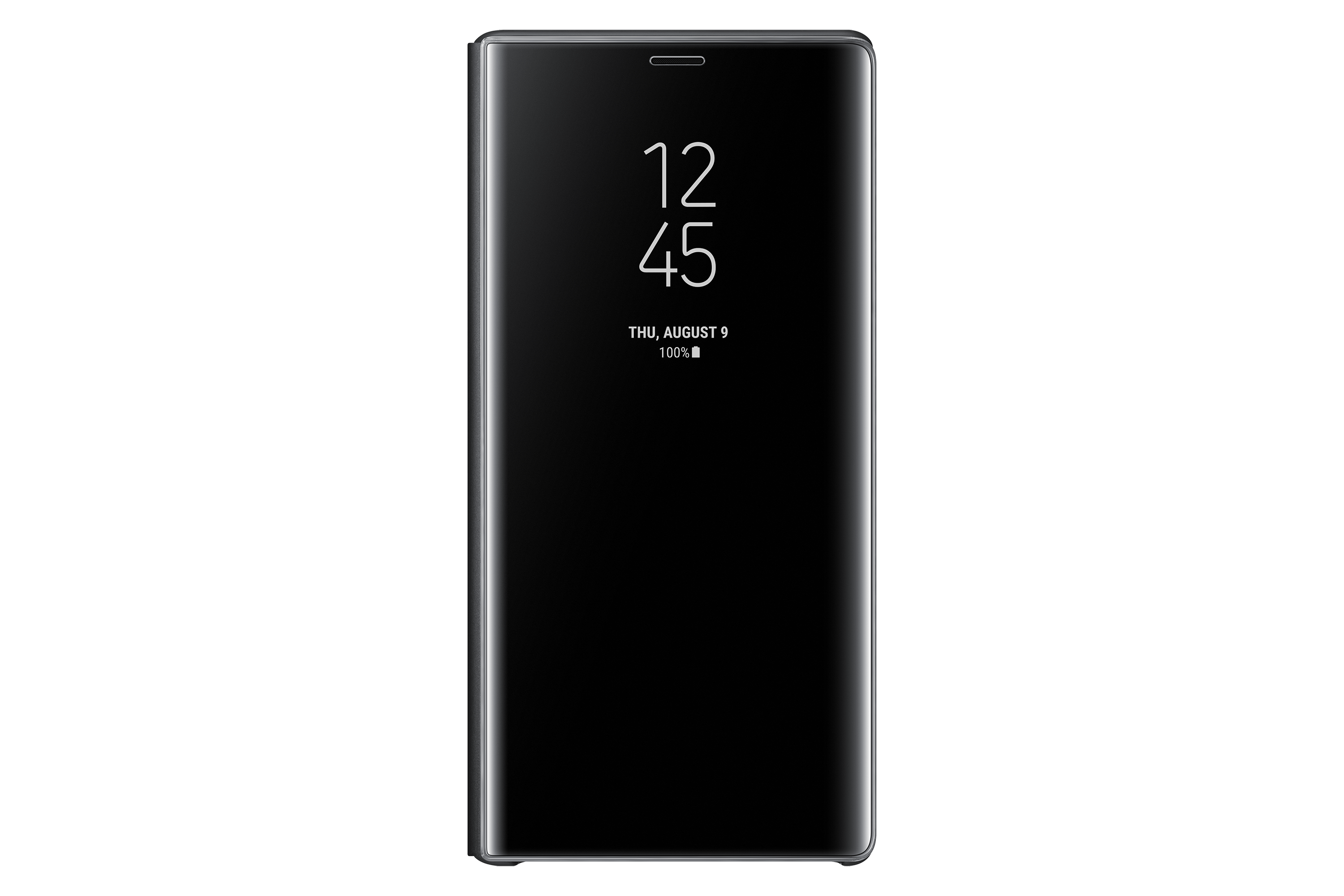 Note9 Clear View Standing Cover