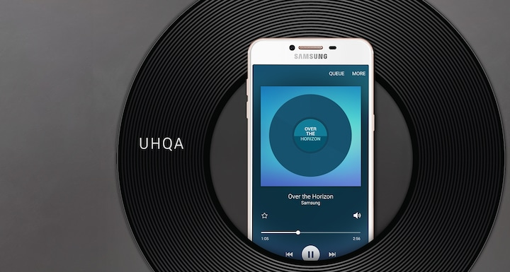 Ultra High Quality Audio technology upscales audio effects in real time