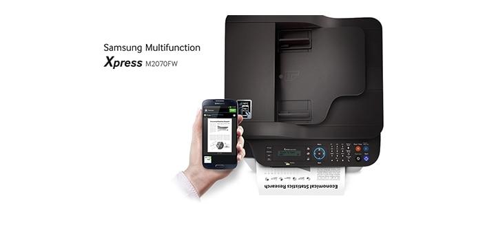 xpress m2070fw a4 mono multi function printers 20ppm. Black Bedroom Furniture Sets. Home Design Ideas