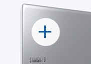 An thumbnail image showing the Notebook 9 device's side, with its cover showing, open fully, with the Samsung logo visible on the top