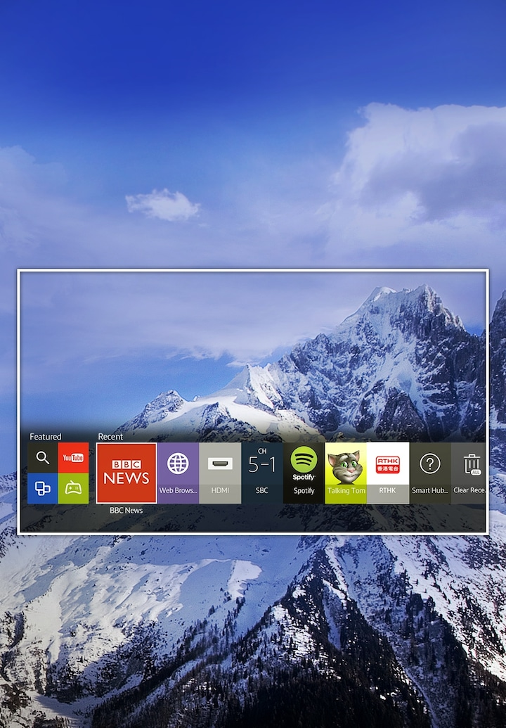 A smarter TV that gets you right to your content instantly