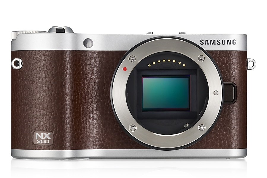 NX300 Front-without-Lens BROWN