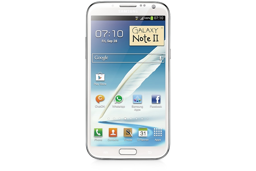 GT-N7100 Front white