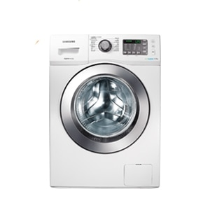 WF602U2BKWQ/SH Front Loader Washing Machine 6kg White