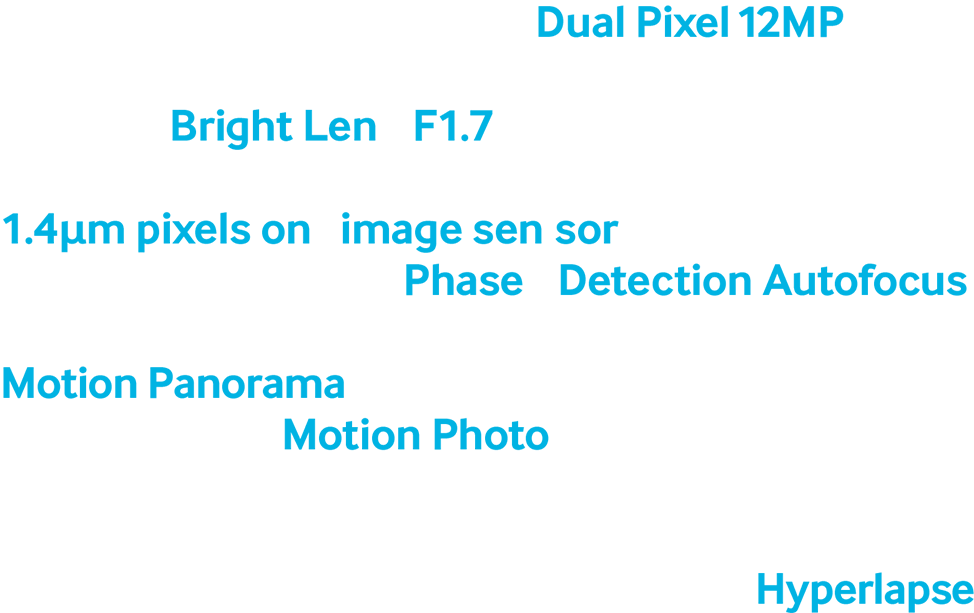 Camera module image surrounded by text