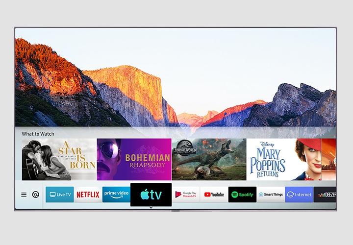 QLED遇上全新Apple TV應用程式