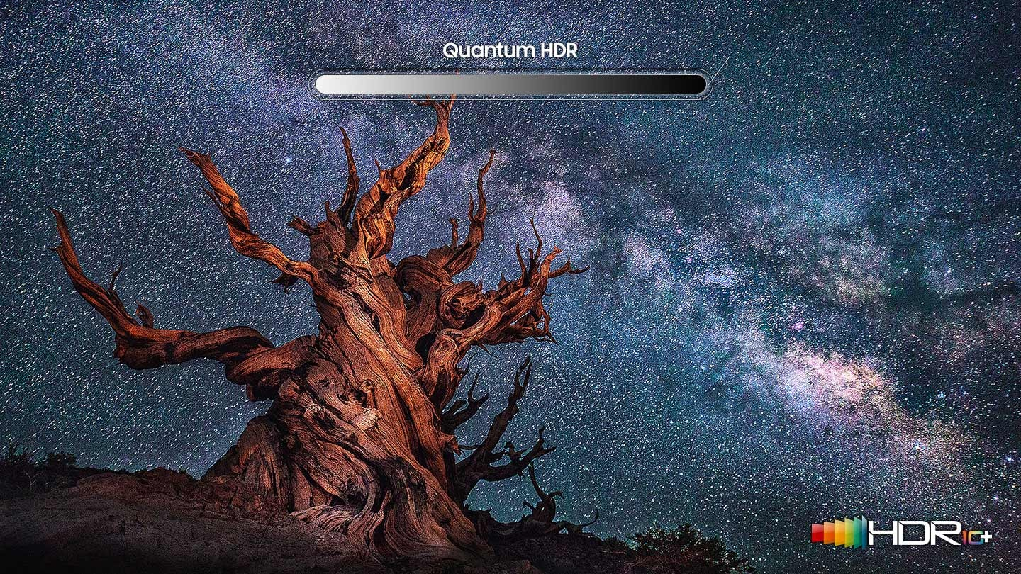 Incredible HDR with brilliant QLED