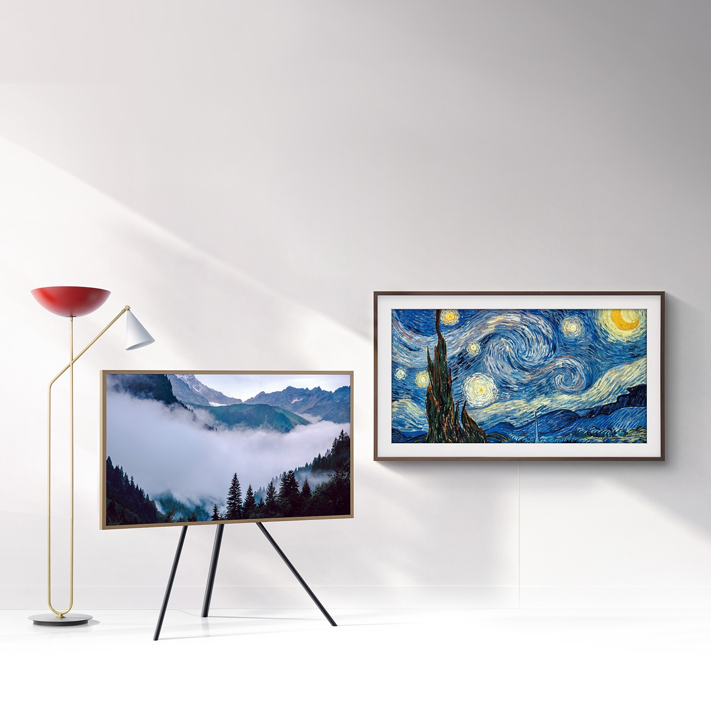 Turn off to beautify your space with art