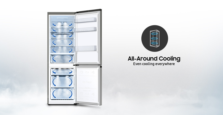 Ravnomjerno hlađenje iz kuta u kut
