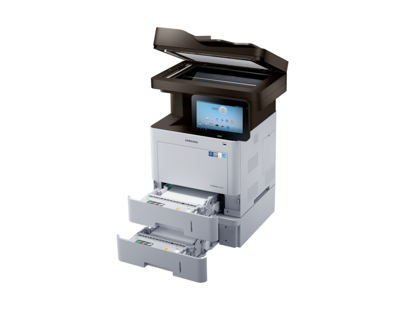Right Scanner Tray Open Silver