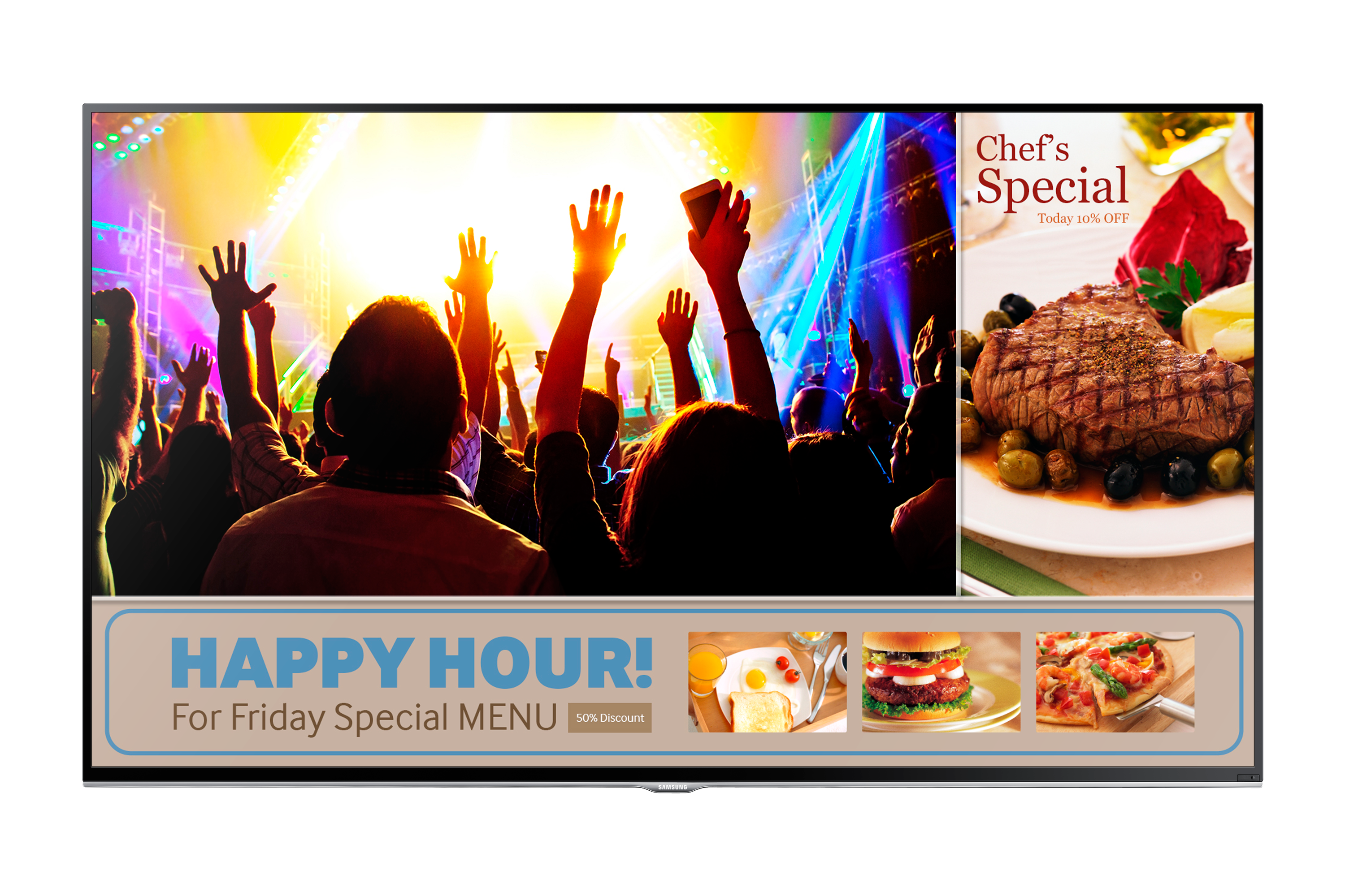 "40"" SMART Signage TV for small-medium sized businesses"