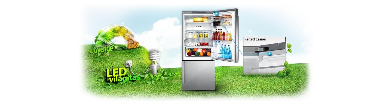 Egyszerre tárolja az élelmiszereket és védi a környezetet