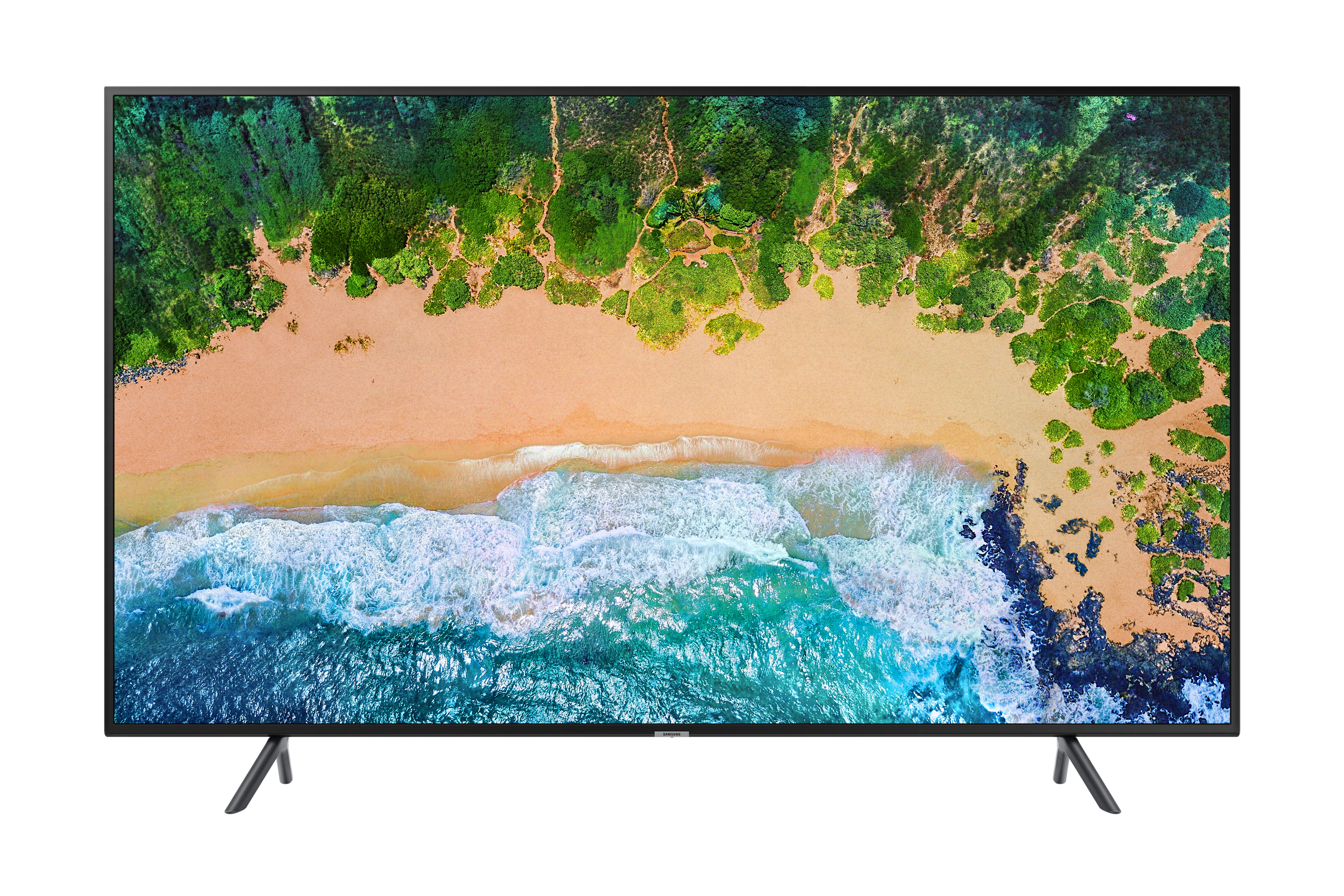 "75"" NU7102K 4K Sík Smart UHD TV"