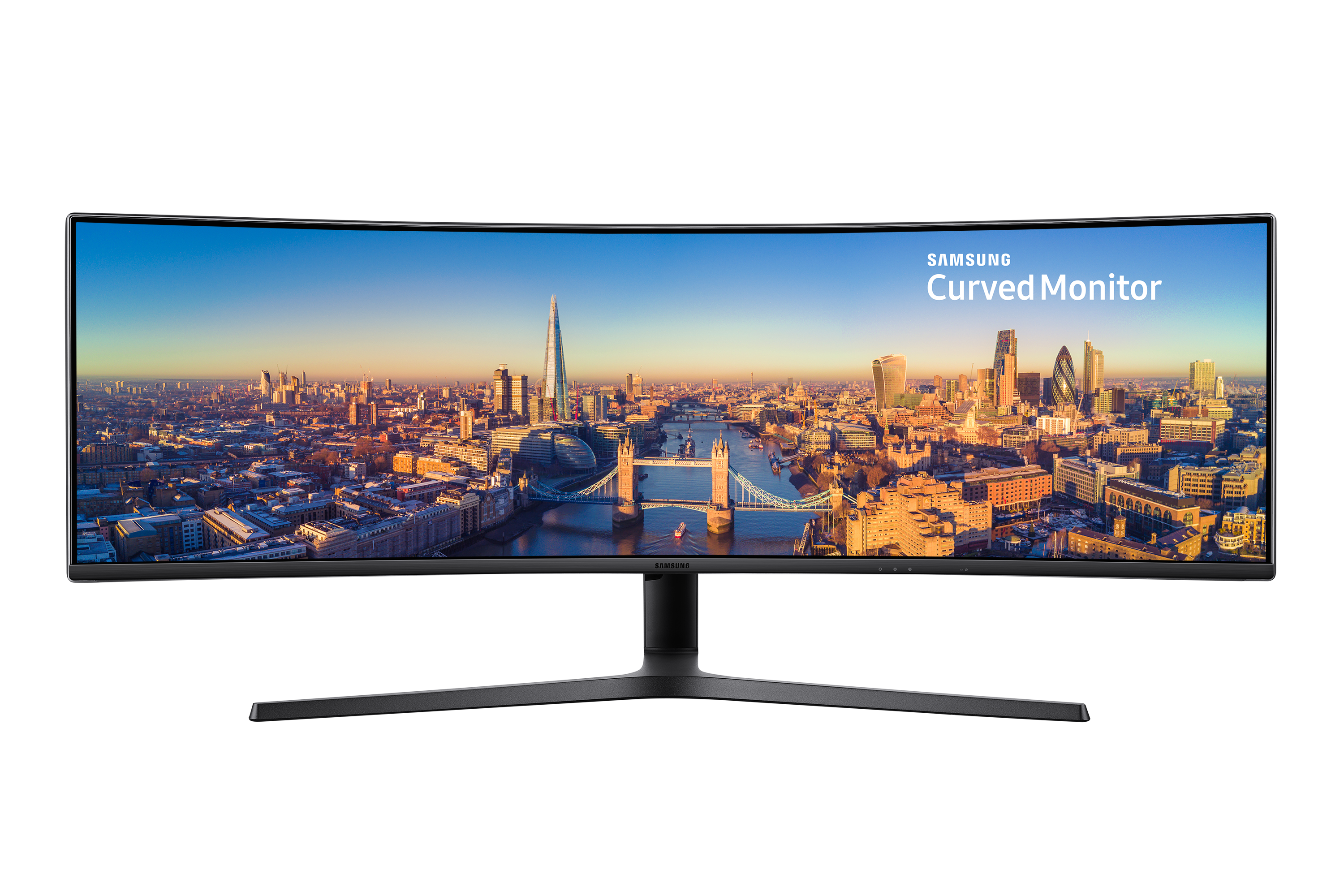 "49"" Curved Business Monitor with 32:9 Super Ultra-wide screen"