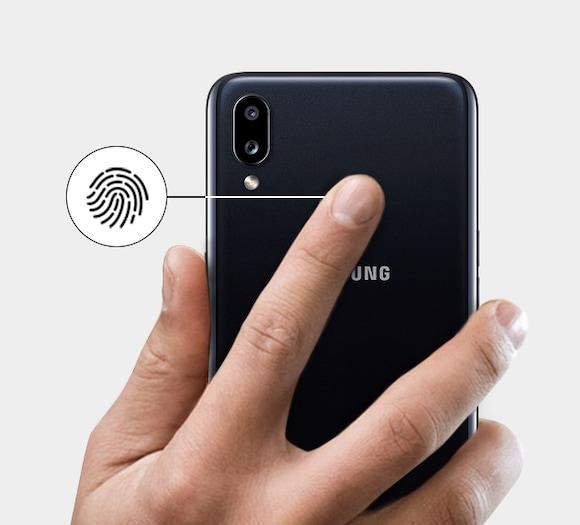 Samsung Galaxy A10s Fingerprint Sensor