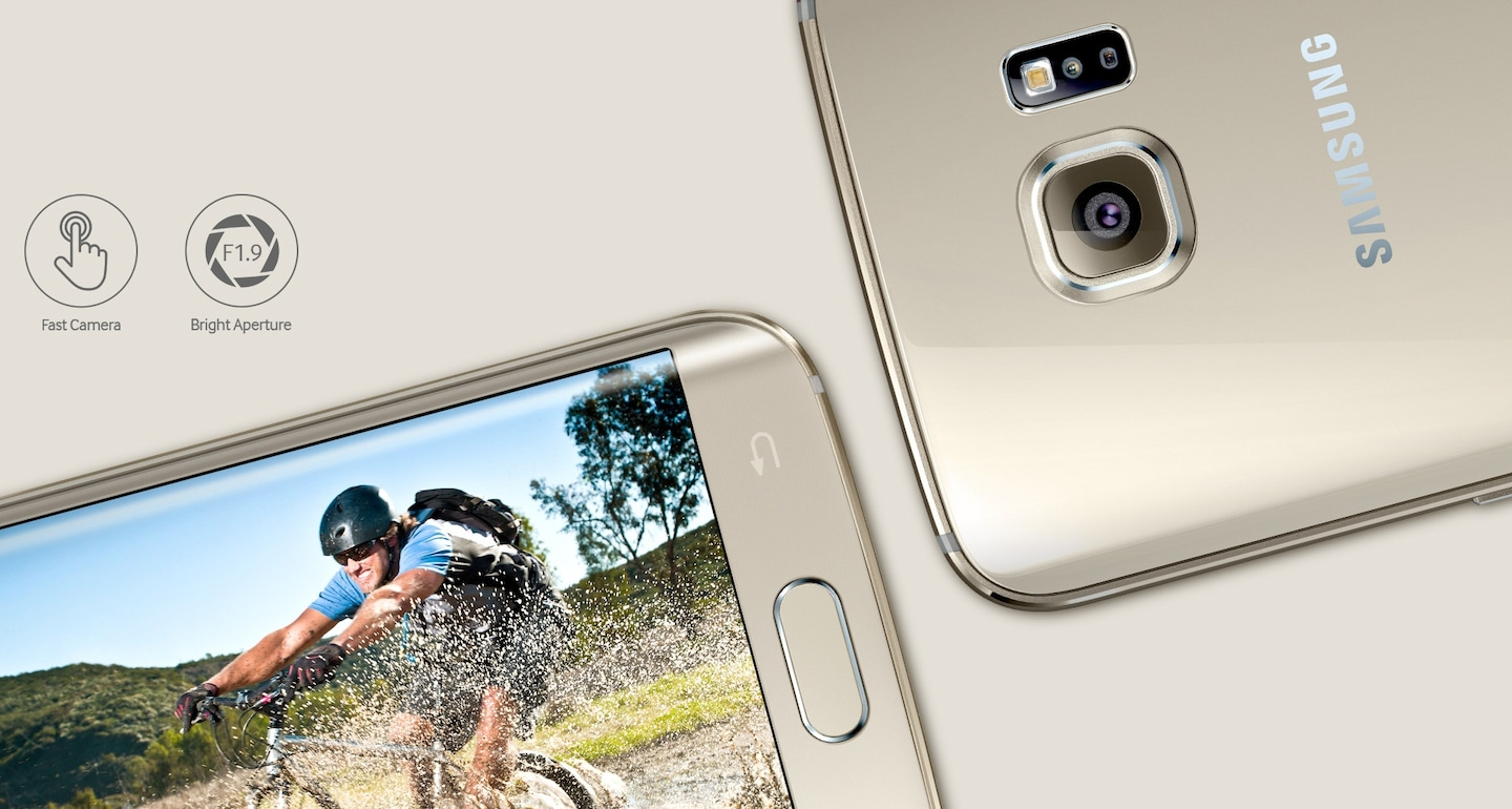Samsung Galaxy S6 Edge Indonesia Note Second Layar Shadow Improved Aperture Clearer Pictures