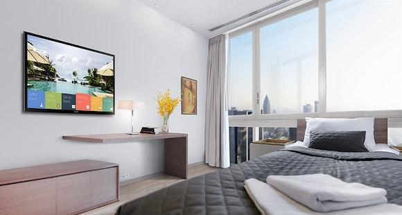 Mở rộng Khả năng giao hàng nội dung trong phòng với Màn hình Khách sạn HE460 của Samsung
