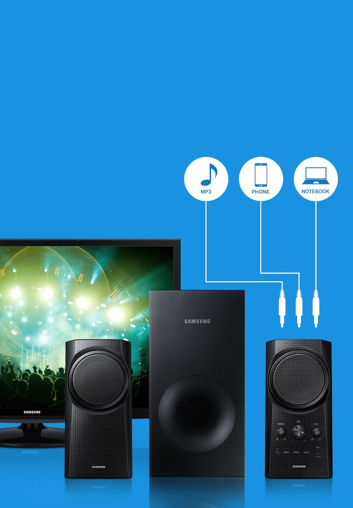 Make your TV and PC sound even better