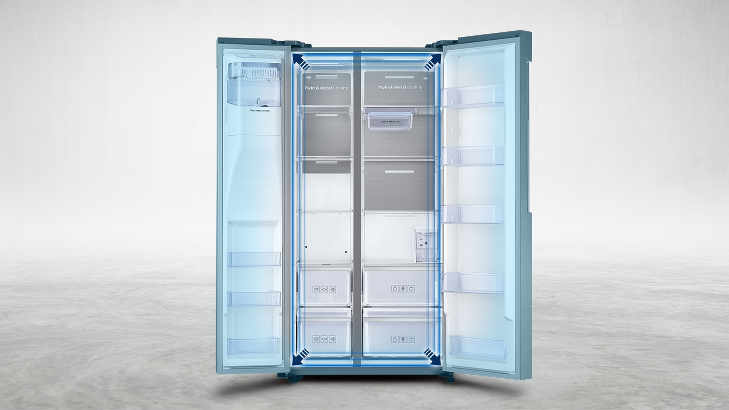 More space to store more food