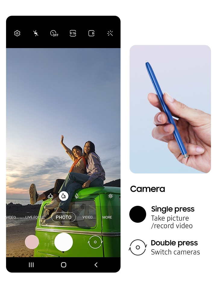 S Pen is now your remote control
