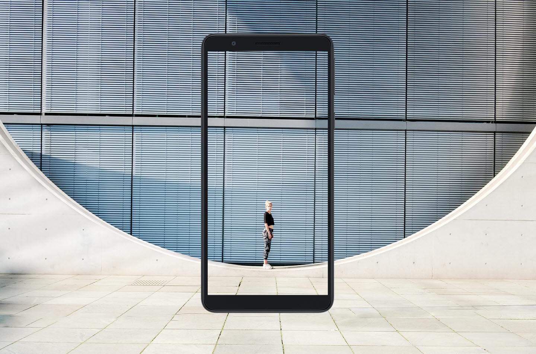 A tela grande com uma visão melhor
