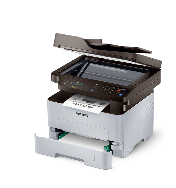Printer multi-fungsi Hitam-Putih Samsung