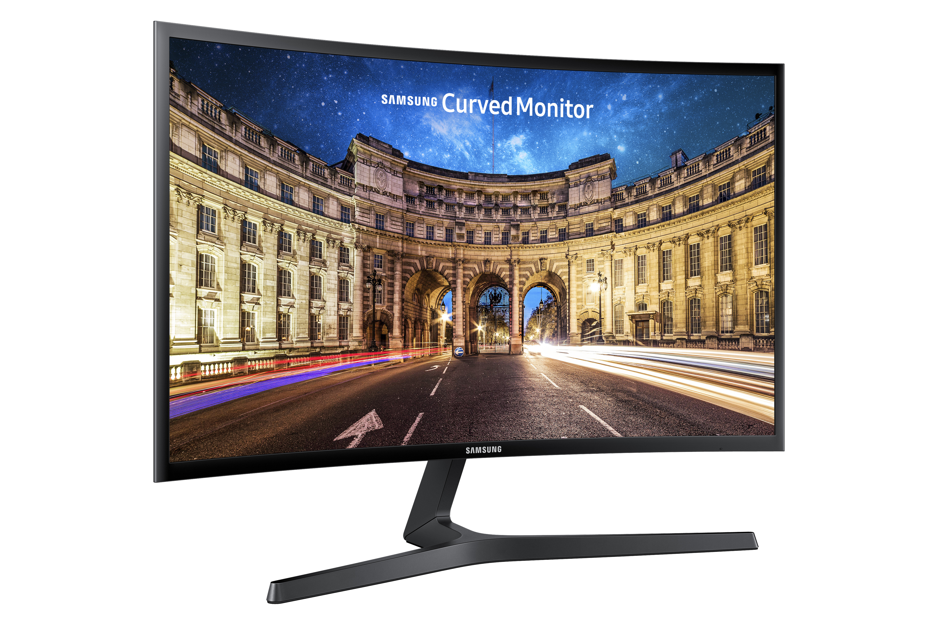 "27"" Curved monitor with wide viewing angle and fast 4ms response time"