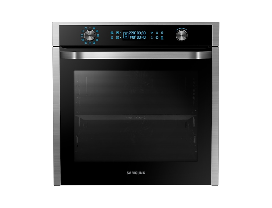 Dual Cook Electric Oven 75 Litres Bbq Spit Self Clean