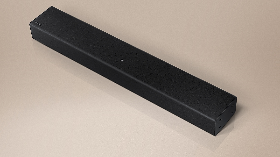 T400 Soundbar is seen on a wh