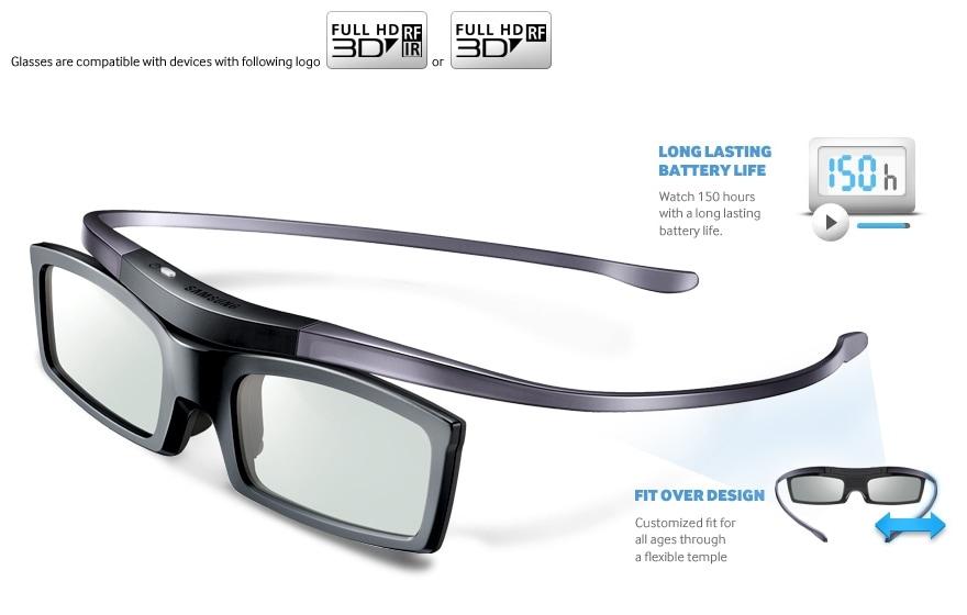 e38570633bdd Samsung SSG-5100GB 3D TV Glasses (Battery) - Samsung TV Accessories