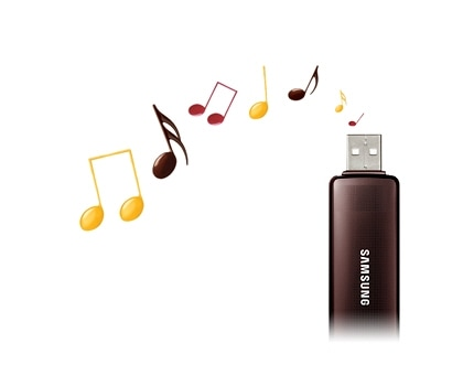 Play music directly from USB sources