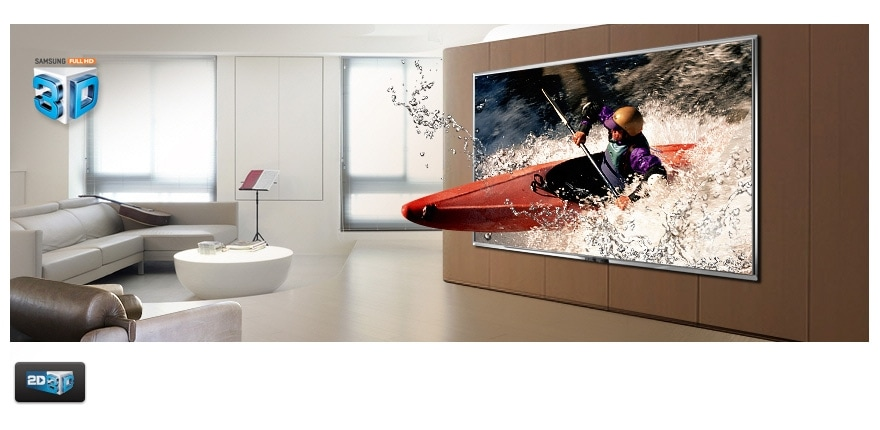 3D pictures immerse you in the action