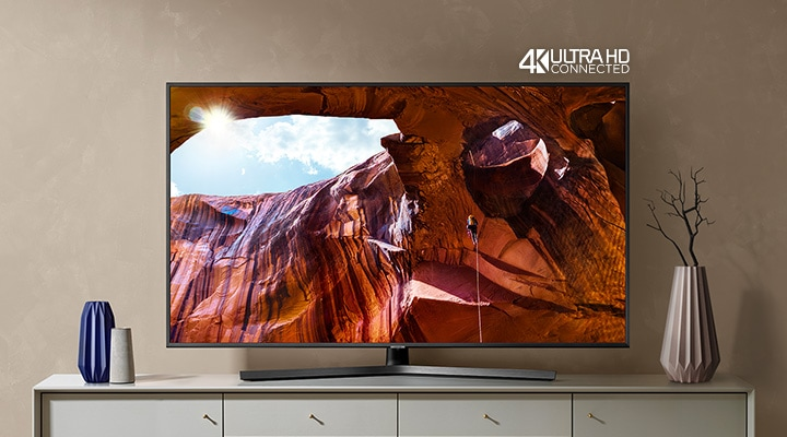 Discover exceptional picture quality with our RU7400 Dynamic Crystal Colour 4K TV
